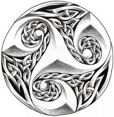 celtic tattoo design by roblfc1892.deviantart.com on @deviantART