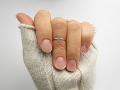This adorable knuckle ring is made from argentium sterling silver or 14k gold filled metal - you choose. This ring is open, so perfect for