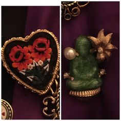 Lovely finds💜 Buddha & Hearts