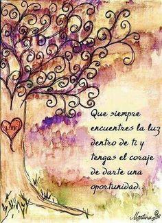 #luz #coraje #oportunidad