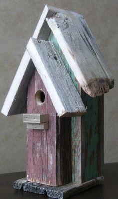 Barn Wood Birdhouses | Ideas For Your Backyard
