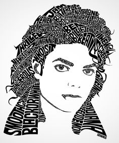 Michael Jackson Type Designs by Seanings