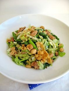 Chinese Chicken Salad | BestOodles - Authentic easy Burmese recipes