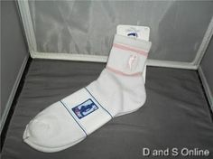NBA ATHLETIC SOCKS 4 HER PINK 9 - 11 ADIDAS