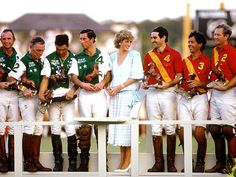 Amid rumors of living separate lives within their troubled marriage, Diana openly flirted with polo players while her husband looked the other way at a November 1985 polo match in West Palm Beach, Fla.