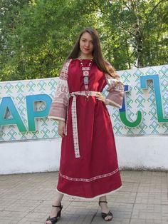 платье в стиле фолк. folkstyle