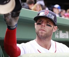 Pedey signs autographs. Ryan Sweeney, Dustin Pedroia, Fenway Park, Boston Red Sox, Baseball Hats, Forget, Signs, Baseball Caps, Shop Signs