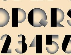 """Check out new work on my @Behance portfolio: """"Art Deco Typeface"""" http://on.be.net/1Pmfdre"""