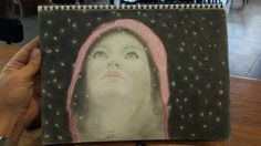 Snowing draw with pencil by - Eusebio