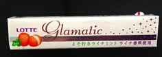 Lychee-flavored chewy candy....it's so GLAMATIC!