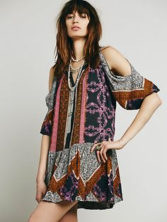 Free People Perfectly Paisley Dress at Free People Clothing Boutique