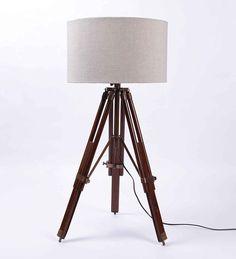 Royal Marine Tripod Floor Lamp | Tripod, Royal marines and Floor lamp