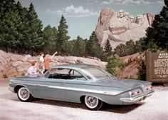 1961 Chevrolet Impala Sport Coupe Back when American Made Was A Good Thing!!!! & the People we're Proud Of It !!!