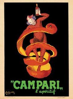 Leonetto Cappiello, Bitter Campari LAperitif, c.1921