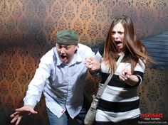 Hilarious haunted house reactions