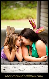 mother daughter portrait ideas - Google Search