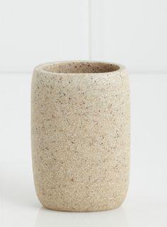 Round Resin Tumbler - bathroom accessories - Home & Lighting - BHS