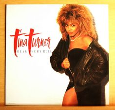 TINA TURNER Break every Rule Vinyl LP Typical male Two People Afterglow Top RARE
