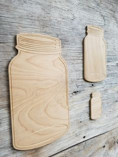 Wooden Mason Jar Paintable Blanks Door Hanger Craft Supply DIY Craft Projects Wooden Cutouts by Southernkeeps on Etsy Hanger Crafts, Door Crafts, Wooden Crafts, Wooden Cutouts, Diy Wood Signs, Etsy Crafts, Diy Door, Diy Craft Projects, Project Ideas