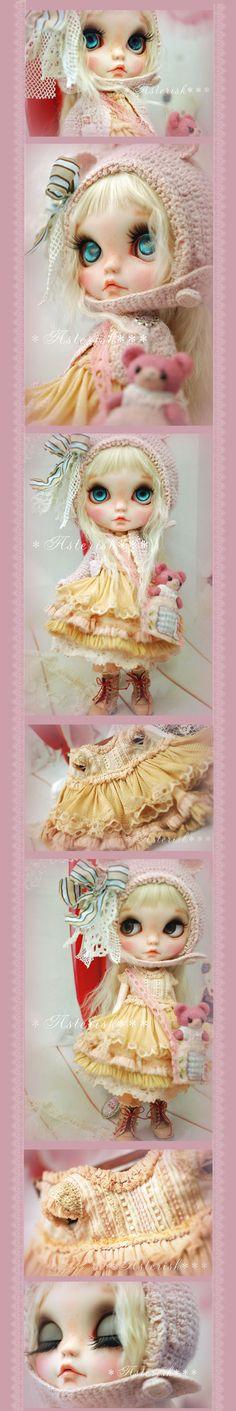 * Custom Blythe Pink Teddy Bear-Asterisk *** - Auction - Rinkya! Japan Auction & Shopping