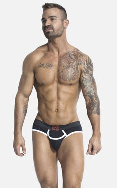 Jesse Jordan shows off the brand new Jack Adams Army Fly FULL Brief.
