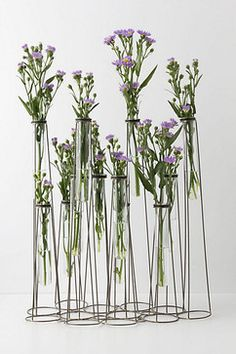 Test Tube Vase contemporary vases