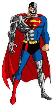 Cyborg Superman, Superman Art, Superman Family, Evil Superman, Comic Villains, Dc Comics Characters, Dc Comics Art, Chibi Marvel, Marvel Dc
