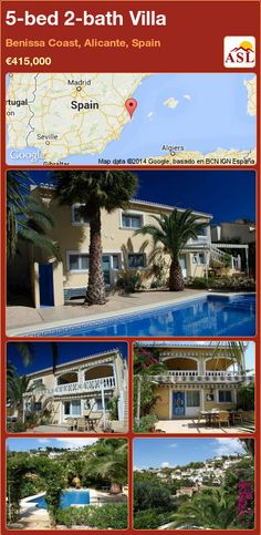 5-bed 2-bath Villa in Benissa Coast, Alicante, Spain ►€415,000 #PropertyForSaleInSpain