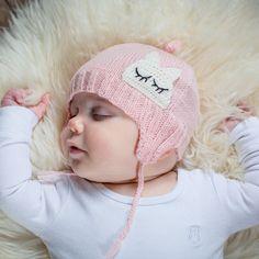 Acorn Infant Cashmere Pink Beanie