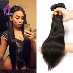 Brazilian Virgin Hair Straight 4 Bundles Virgin Hair Straght Brazilian Hair Weave Bundles Virgin Brazilian Straight Hair Bundles -  http://mixre.com/brazilian-virgin-hair-straight-4-bundles-virgin-hair-straght-brazilian-hair-weave-bundles-virgin-brazilian-straight-hair-bundles/  #HairWeaving