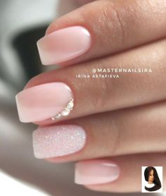 Shop for nail polish and nail care products. Indulge in the latest nail trends from summit brands considering OPI, Essie, Butter London and more. * Check out this great product. (This is an affiliate link) Stylish Nails, Trendy Nails, Cute Nails, Soft Pink Nails, Light Pink Nails, Nail Pink, Soft Gel Nails, Pink Glitter, Glitter Nails