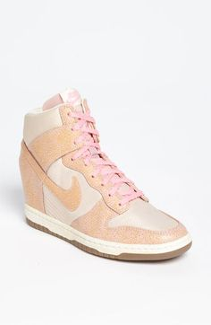 Nike 'Dunk Sky Hi' Wedge Sneaker...saw these in person & fell in love!