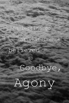 Goodbye Agony. Black Veil Brides. ❤️