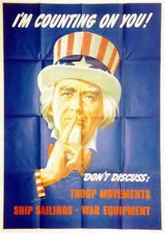 """Uncle Sam says, """"Shut Yo' Mouth"""""""