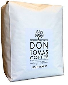5 LB Light Roast Coffee Beans Don Tomas Nicaraguan Coffee - Rainforest Alliance Certified Farm Coffee Pods, Coffee Latte, Hot Coffee, Coffee Drinks, Coffee Beans, Non Dairy Coffee Creamer, Coffee Substitute, Natural Coffee, Brew Your Own
