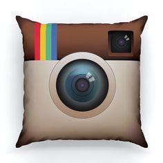 Instagram app pillow