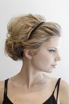 The Seattle Times: How to channel Brigitte Bardot's sexy updo beauty and hair,Hair,I'd wear that. My Hairstyle, Headband Hairstyles, Pretty Hairstyles, Wedding Hairstyles, Wedding Updo, Vintage Hairstyles, Hairstyle Ideas, Wedding Hair And Makeup, Hair Makeup