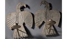 Eagle Tin Sconces, Late 19th century, Pennsylvania