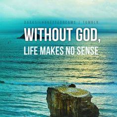 Look for Him.   The gospel of John is a good beginning.  http://www.biblegateway.com/passage/?search=John+1=NIV