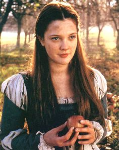 Drew Barrymore as Danielle in Ever After She is my most favorite actress. I love every one of her movies.