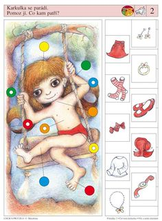 LOGICO PICCOLO | Pohádky | Pohádky - Karkulka - Vlk a sedm kůzlátek | Didaktické pomůcky a hračky - AMOSEK Sequencing Cards, Montessori, Guessing Games, Autism Classroom, Brain Activities, Preschool Worksheets, Speech Therapy, Kids Learning, Special Education