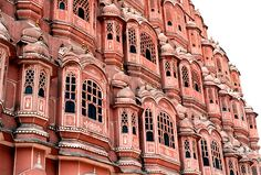 Jaipur, India - the pink city. It hosts several attractions like the City Palace, Govind Dev ji Temple, Vidhan Sabha, Birla Temple, several massive Rajput forts and so on.