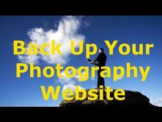 backing up your photography website  http://photographywebmarketing.com/backup/photography-website-backup/