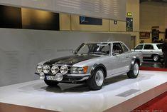 Historic Rally & Classic Race Cars: Mercedes-Benz 450 SLC - Rally Car