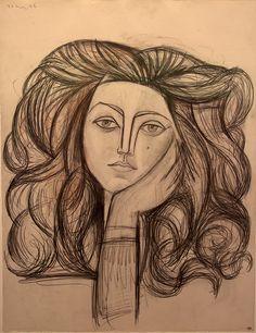 Picasso Pablo - Portrait de Françoise | Flickr - Photo Sharing!