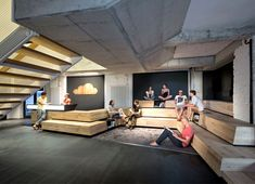 New Headquarters Space of Online Platform SoundCloud by KINZO encourages innovation creativity
