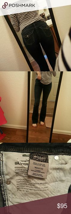 LIKE NEW Silver Jean Worn only a couple times. A little too tight on me. Silver Jeans Jeans