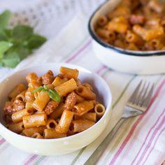 Cómo preparar rigatoni con chorizo con Thermomix. TM5 (TM31) « Trucos de cocina Thermomix