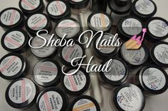 ShebaNails Gelcrylic Haul/ Promotion Package 2015 | DivaDollFlawless