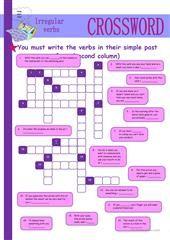 IRREGULAR VERBS worksheet - Free ESL printable worksheets made by teachers